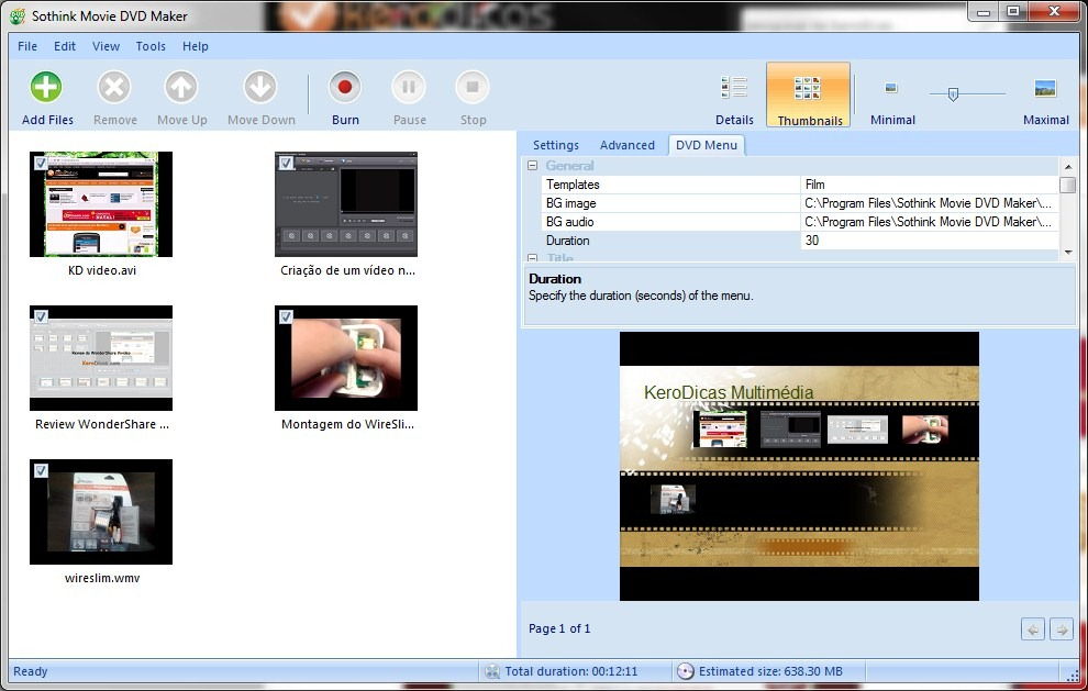 how to burn a dvd from windows live movie maker