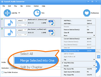 Mp3 joiner join mp3 files without re encoding join mp3 files ccuart Choice Image