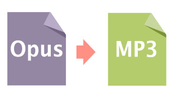 Opus to MP3 - Convert Opus to MP3, WAV, AAC, FLAC, M4A, etc