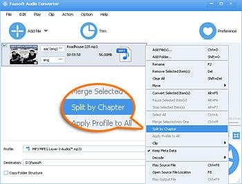 CUE Splitter - Split MP3, FLAC, APE, WAV, DTS, WMA, OGG, etc