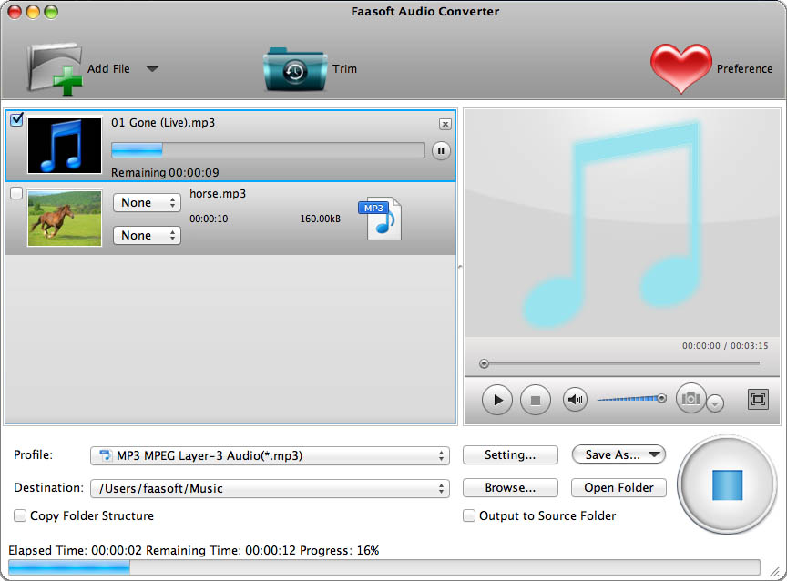 Products - Audio Converter for Mac