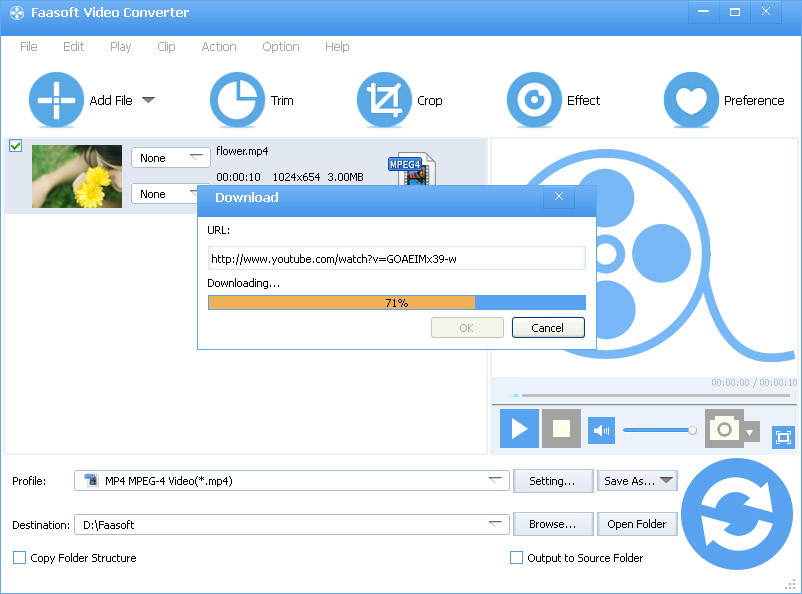 how to download video with audio from internet free
