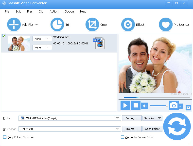 WTV Converter - Convert WTV to MP4, AVI, MKV, WMV, MP3, WAV, etc